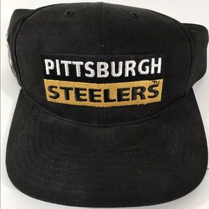 2c825f809a1 NFL Accessories - Pittsburgh Steelers Vintage Retro Snapback Hat
